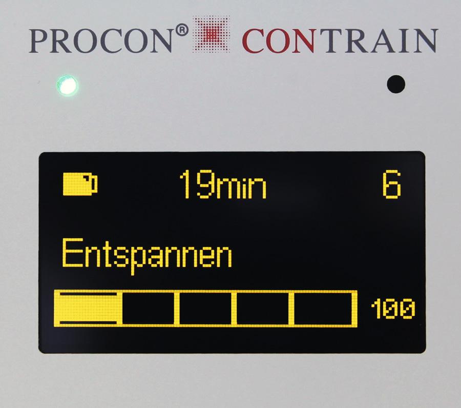 Erfolgreiche Inkontinenz-Therapie mit PROCON® CONTRAIN®